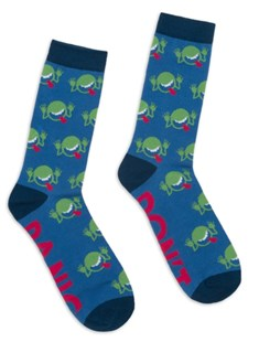 The Hitchhiker's Guide to the Galaxy Socks - Small by  (0739189325856) - Clothing - Clothing Clothing Accessories