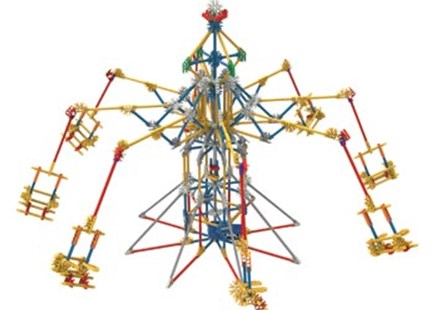 K'Nex - 3 N 1 Amusement Park - Children's Toys & Games Building & Blocks
