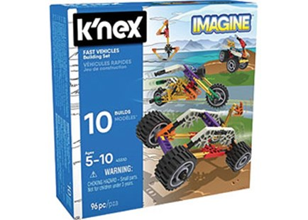 K'Nex - Fast Vehicles Building Set - Children's Toys & Games Building & Blocks