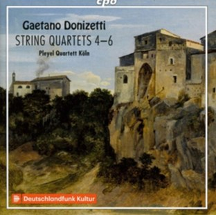Gaetano Donizetti: String Quartets 4-6 - CD / Album - Music Classical Music