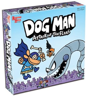 Dog Man Attack of the Fleas Game - Games