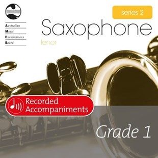 Tenor Sax Series 2 Grade 1 Recorded Accompaniments - Entertainment Music General