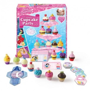 Disney Princess Enchanted Cupcake Party(tm) Game - Board Games Party & Family