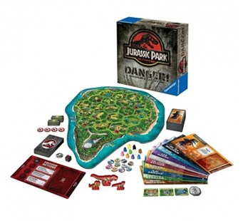 Jurassic Park(tm) Danger! Game - Board Games Party & Family