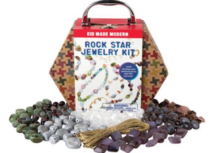 Kid Made Modern - Rock Star Jewelry Kit - Children's Toys & Games Arts & Crafts