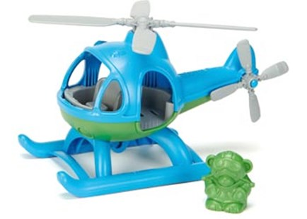 Green Toys - Helicopter - Blue - Children's Toys & Games Infant Toys