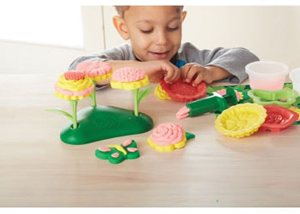 Green Toys - Flower Maker Dough Set - Children's Toys & Games Arts & Crafts