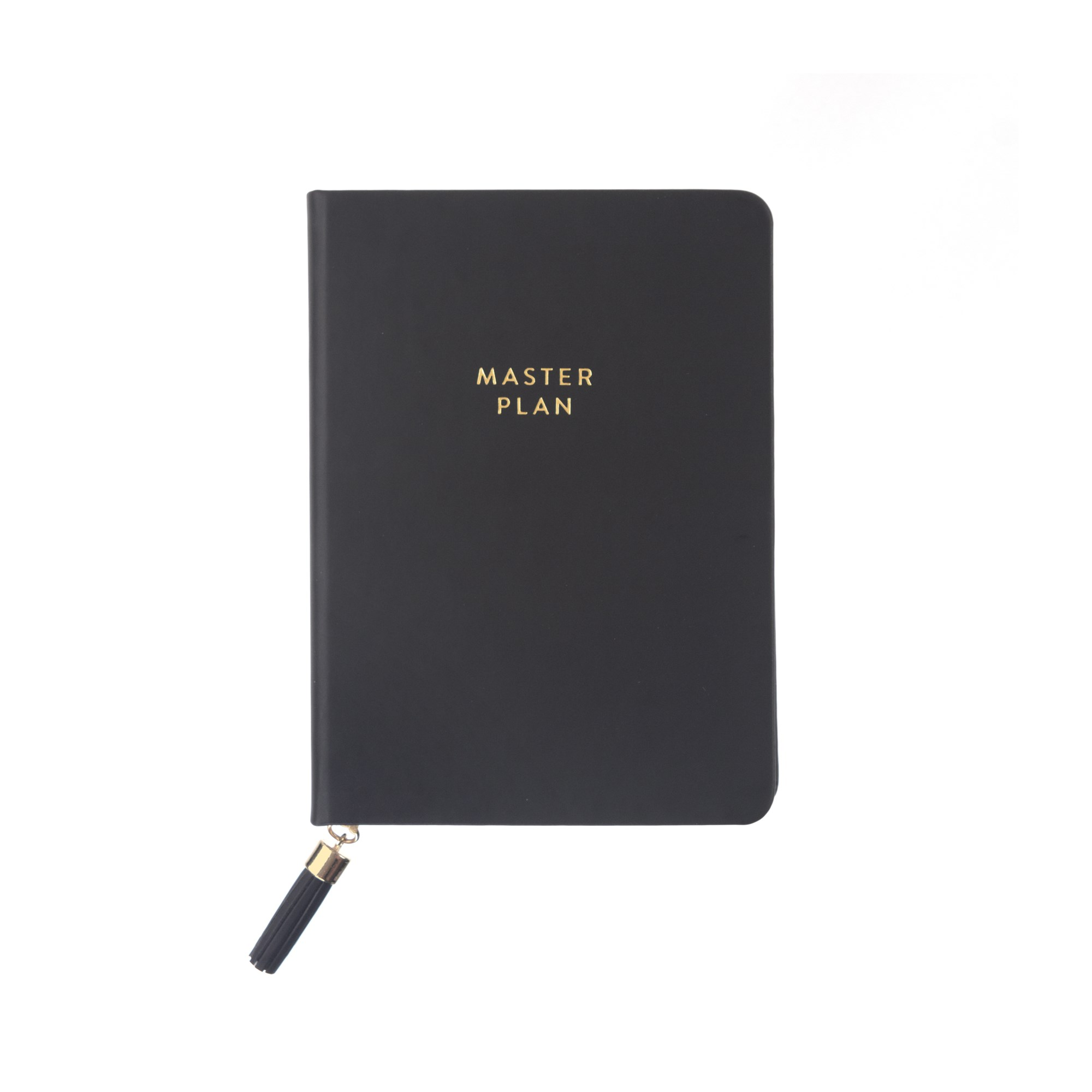 Tassel Journal: Black Master Plan (D320a)