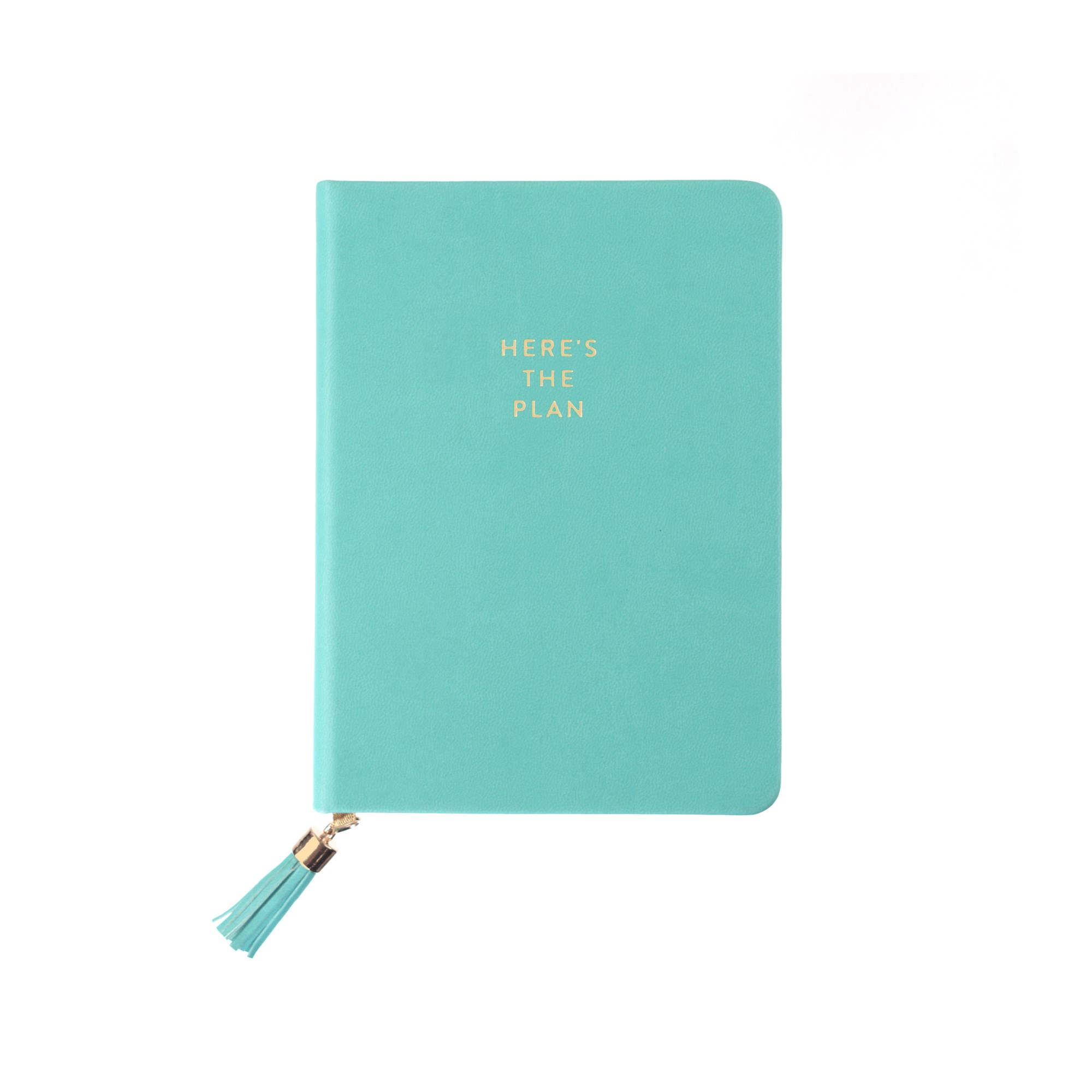 Tassel Journal: Seafoam Here's The Plan (D320b)