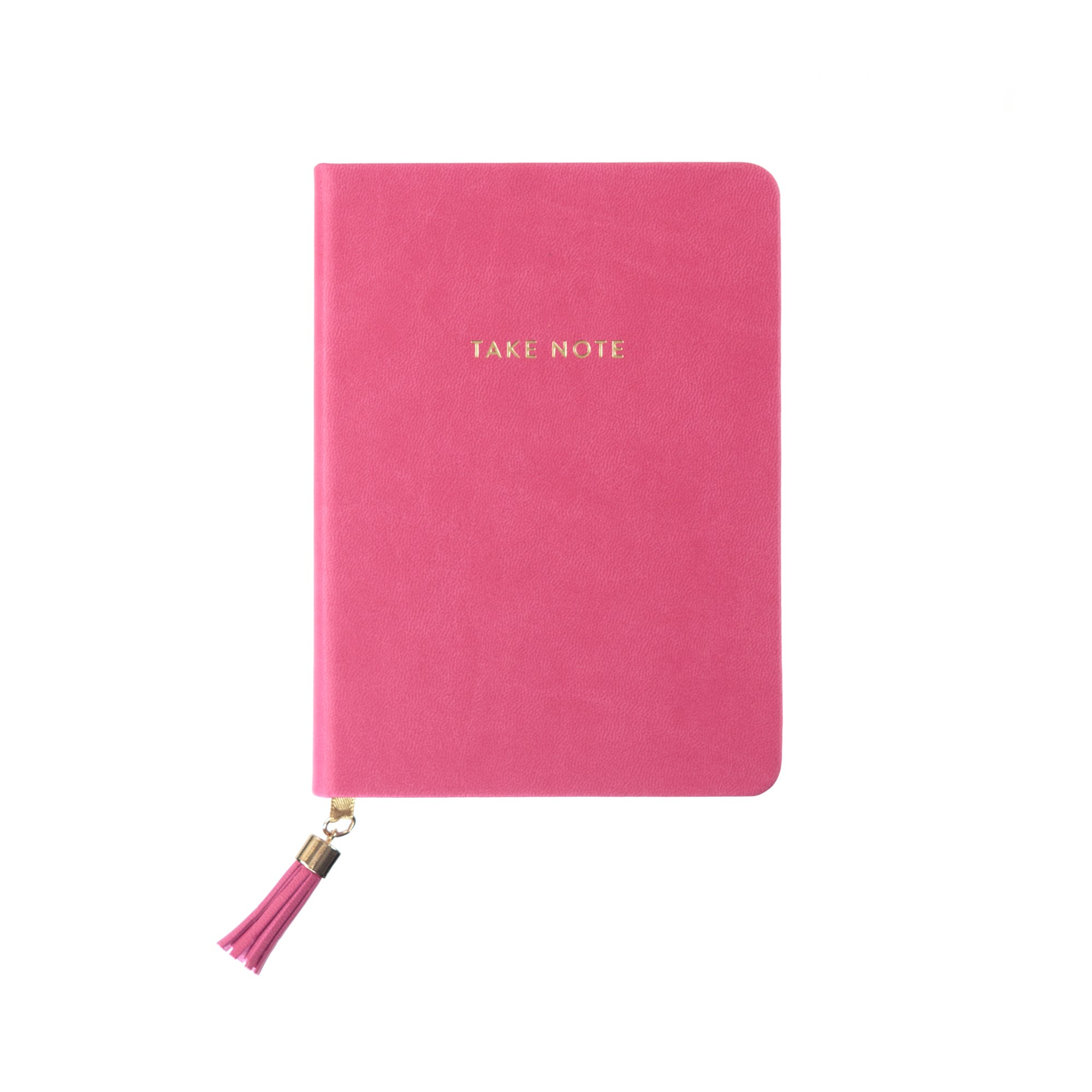 Tassel Journal: Pink Take Note (D320c)