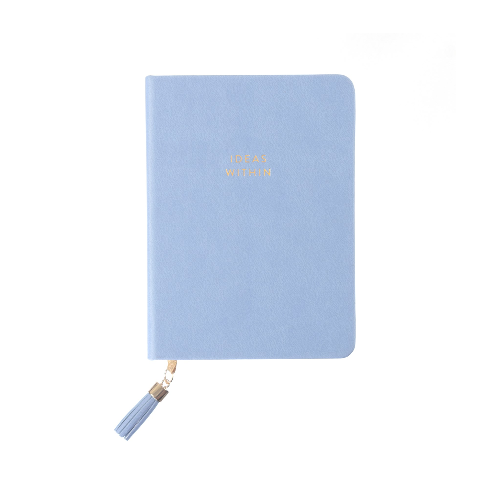 Tassel Journal: Periwinkle Ideas Within (D320d)