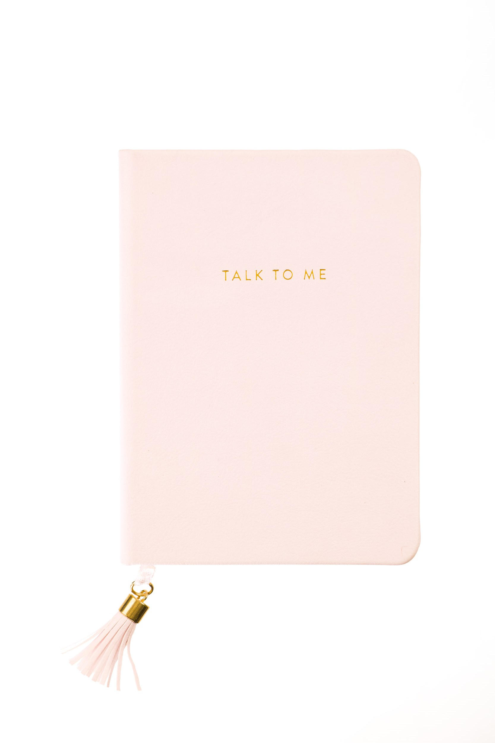 Tassel Journal: Blush Talk To Me (D320e)
