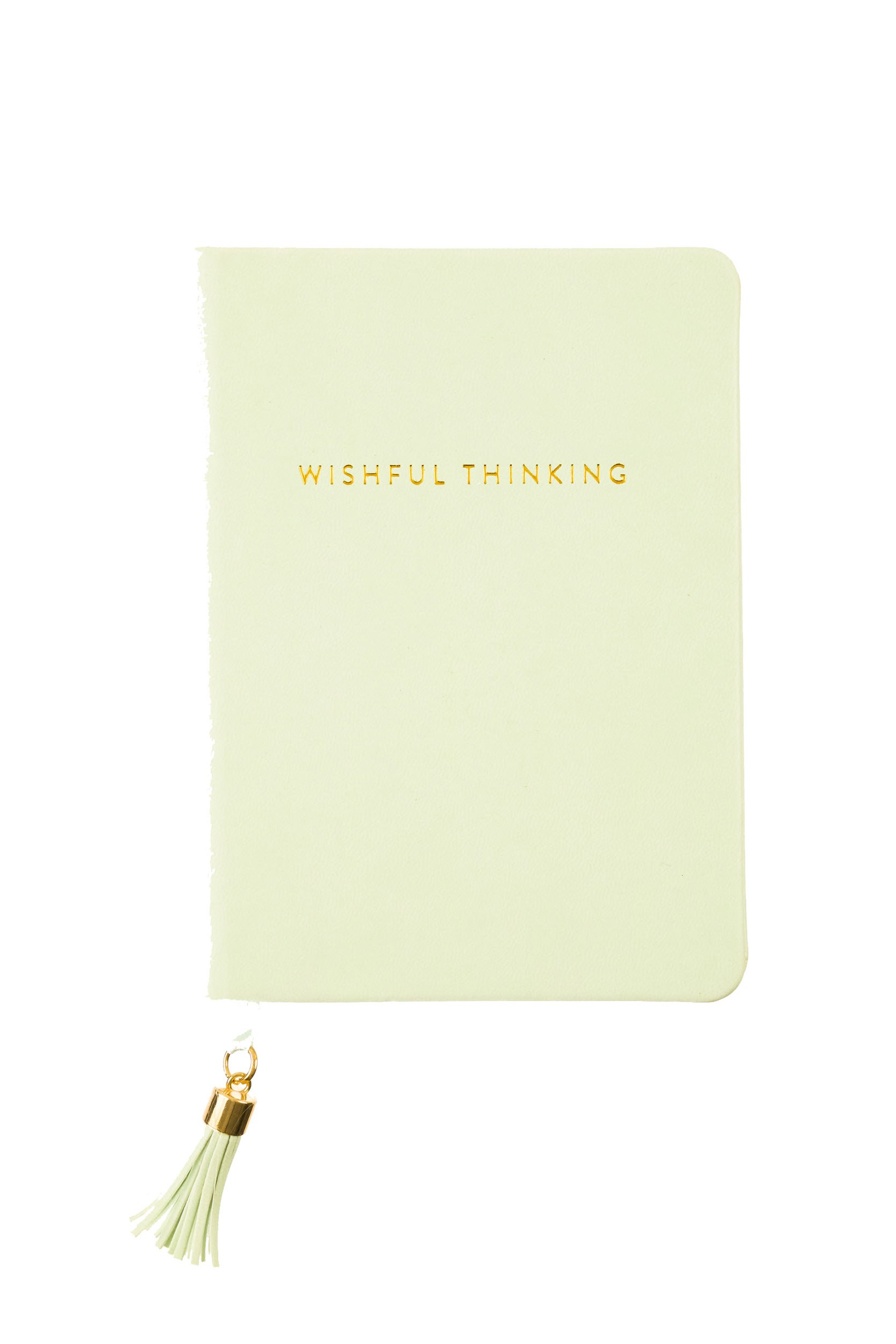 Tassel Journal: Pistachio Wishful Thinking (D320f)