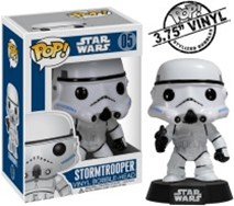 Star Wars - Stormtrooper Pop! Vinyl Bobble Figure