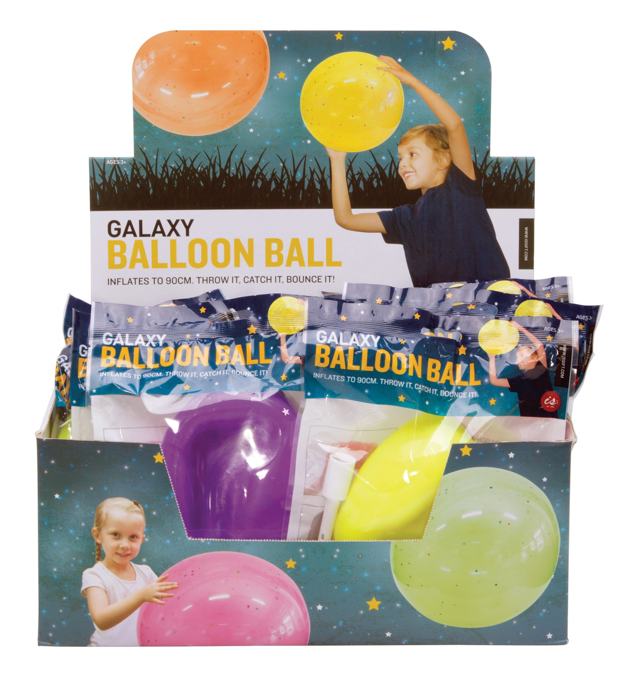 Galaxy Balloon Ball