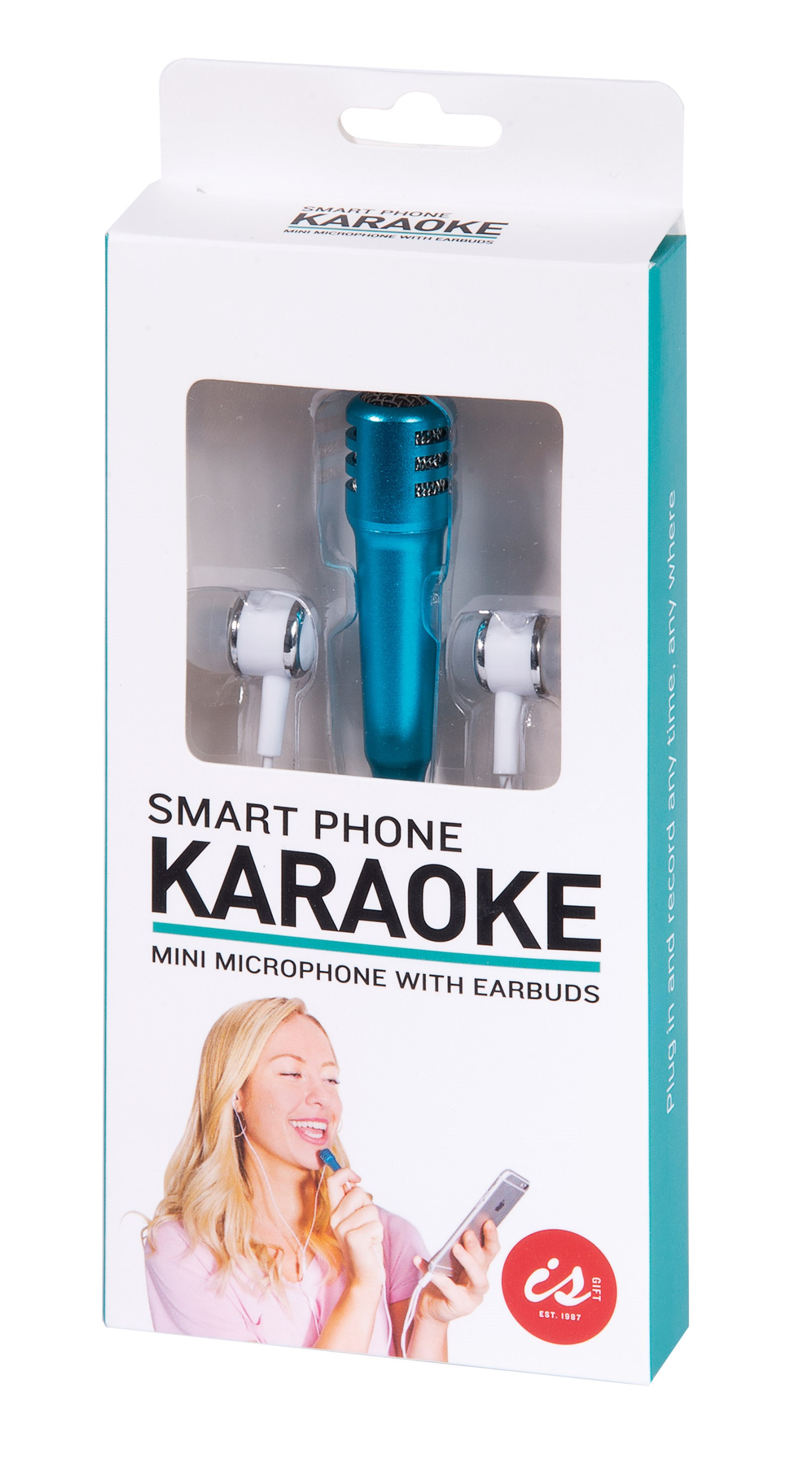 Smart Phone Karaoke Microphone & Earbuds