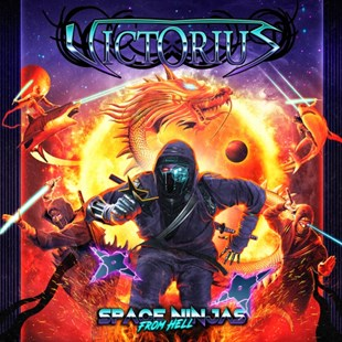 Space Ninjas from Hell - CD / Album (Jewel Case) - Music Metal