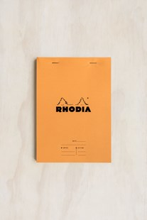 Rhodia - Meeting Notepad #16 RLD A5 Orange - Diaries Diary - Meeting & Action
