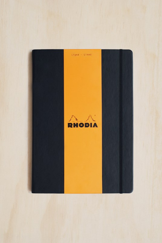Rhodia - Webnotebook - Ruled - A4 - Black