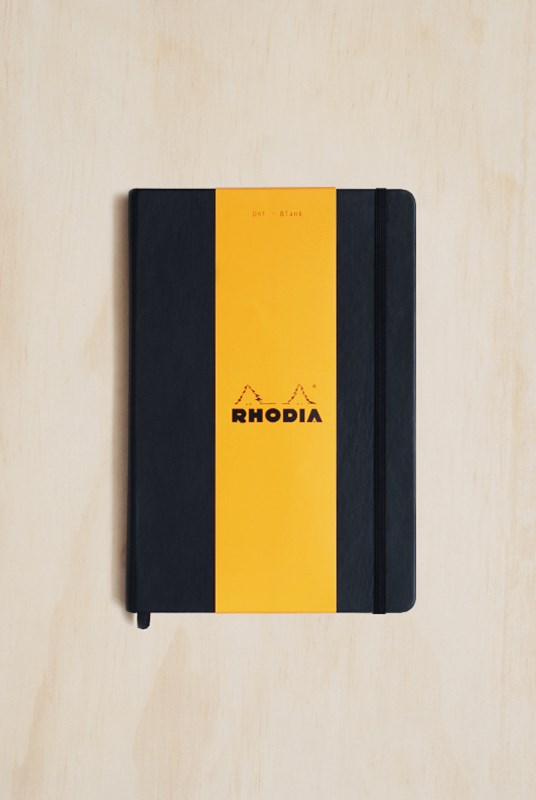 Rhodia - Webnotebook - Plain - A5 - Black