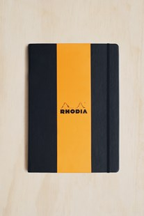 Rhodia - Webnotebook - Dot Grid - A4 - Black - Notebooks & Journals Notebook - Dot Grid