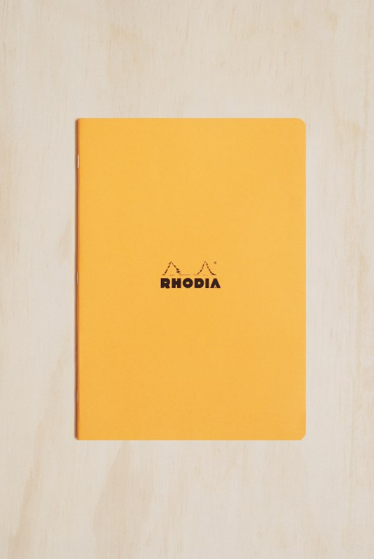 Rhodia - Cahier Notebook - 5x5 Grid - A4 - Orange