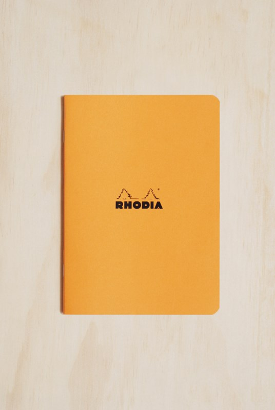 Rhodia - Cahier Notebook - 5x5 Grid - A5 - Orange