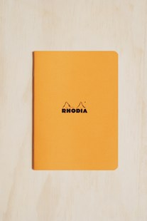 Rhodia - Cahier Notebook - Ruled - A5 - Orange - Notebooks & Journals Notebook - Ruled