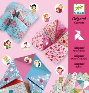 Djeco Fortune Tellers Origami - Children's Toys & Games Arts & Crafts