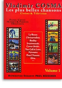 Songs from Cinema and TV Book 1 Piano & Vocal by Vladimir Cosma (3137990010188) - PaperBack - Entertainment Music General