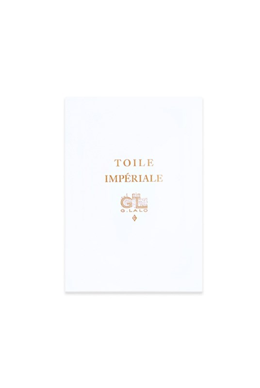 G. Lalo - Toile Imperiale Pad - Plain - A5 - White