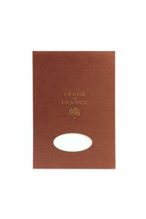 G. Lalo - Verge Laid Finish Pad - Plain - A4 - 25% Cotton - Ivory - Fine Paper Stationery