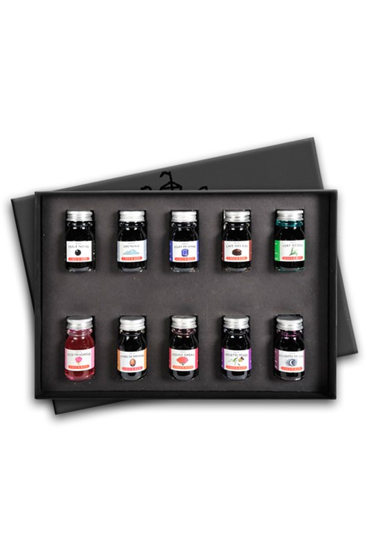 J. Herbin - 10 Bottles of Ink - Gift Box