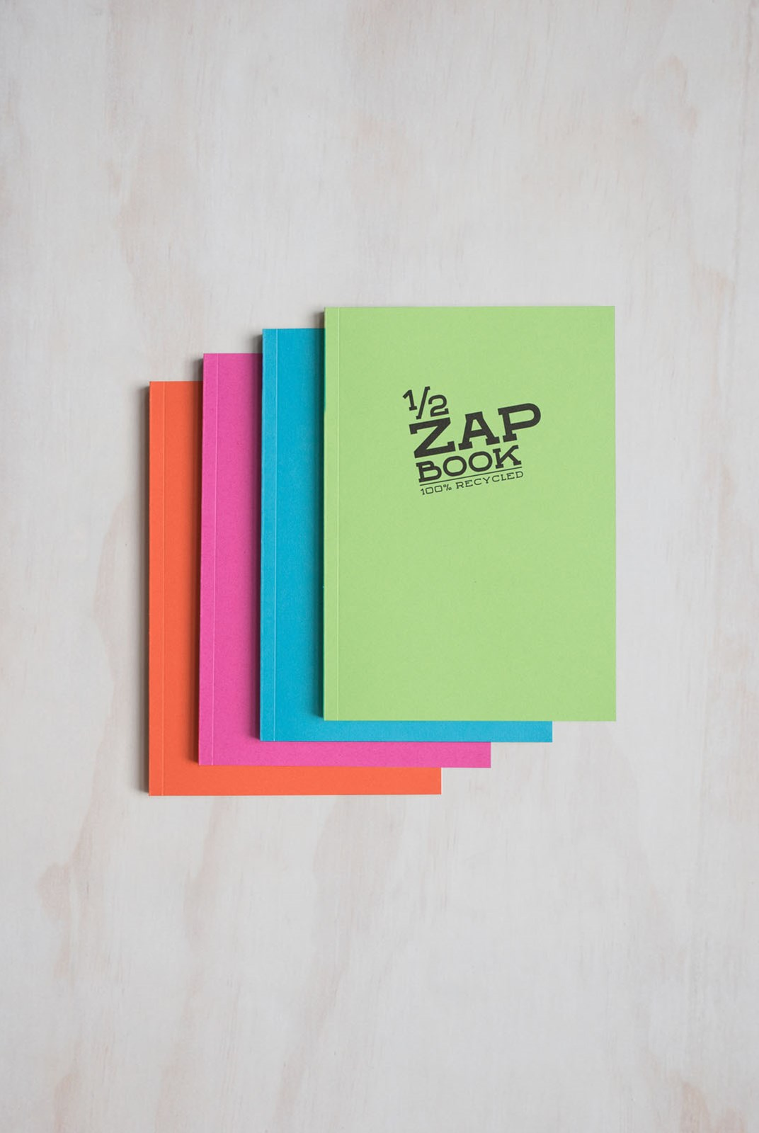 Clairefontaine - Slim Zap Book - Plain - A5 - Assorted Colours