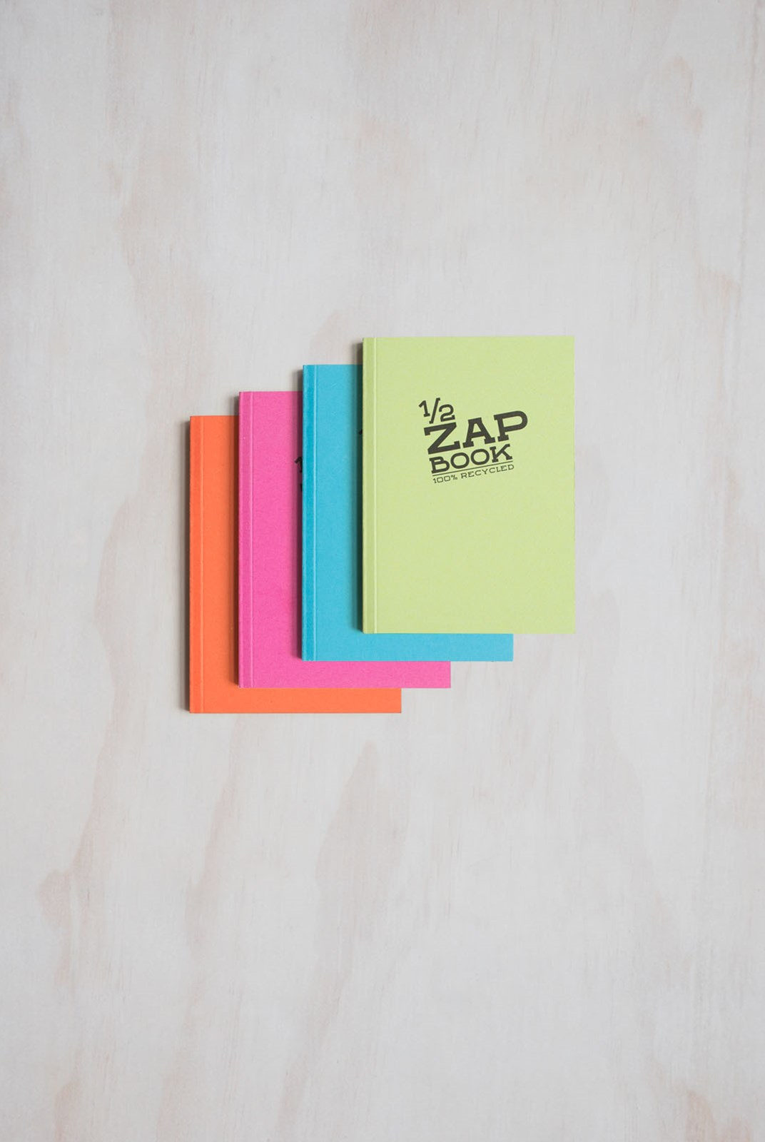 Clairefontaine - Slim Zap Book - Plain - Pocket - Assorted Colours