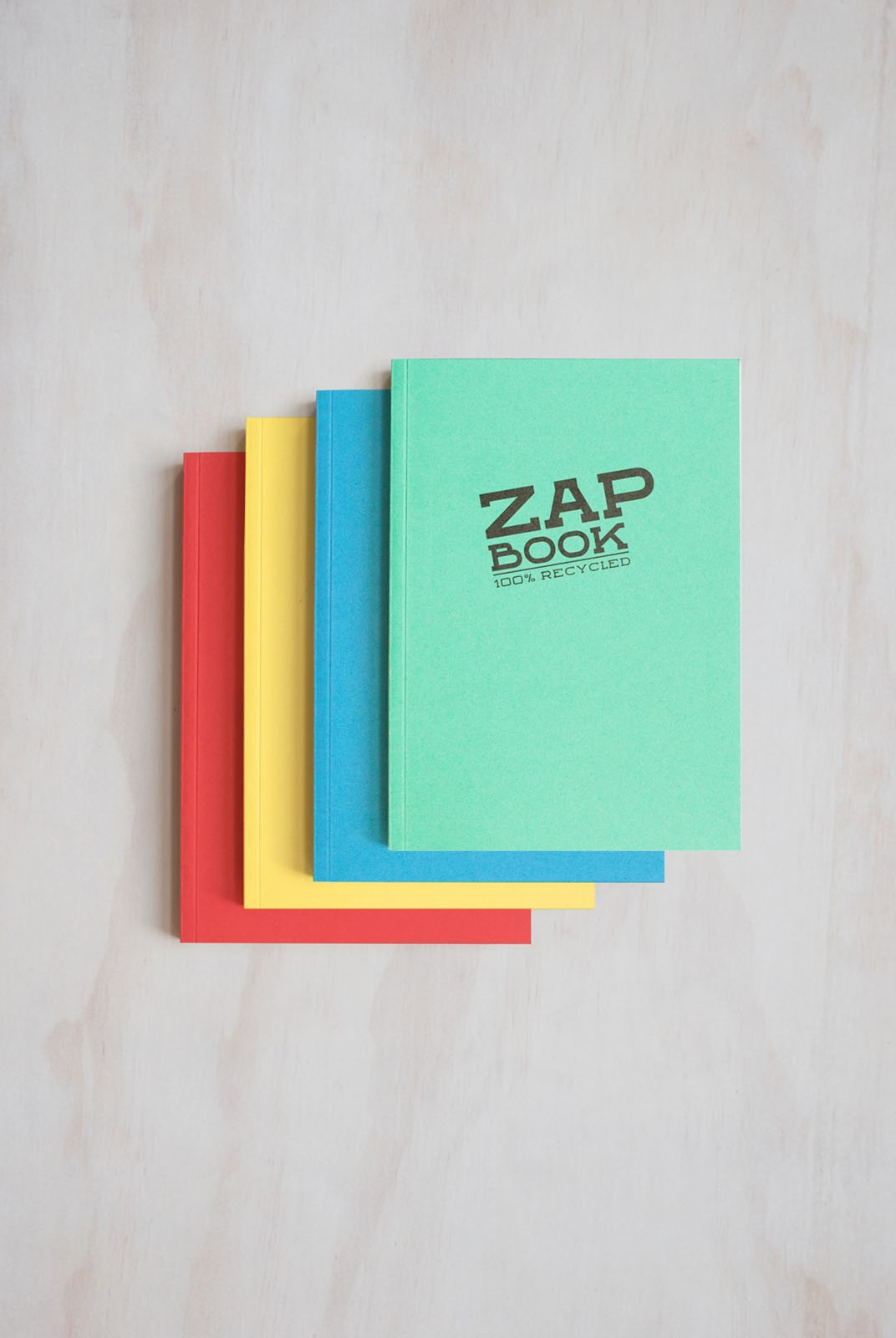 Clairefontaine - Zap Book - Plain - A5 - Assorted Colours