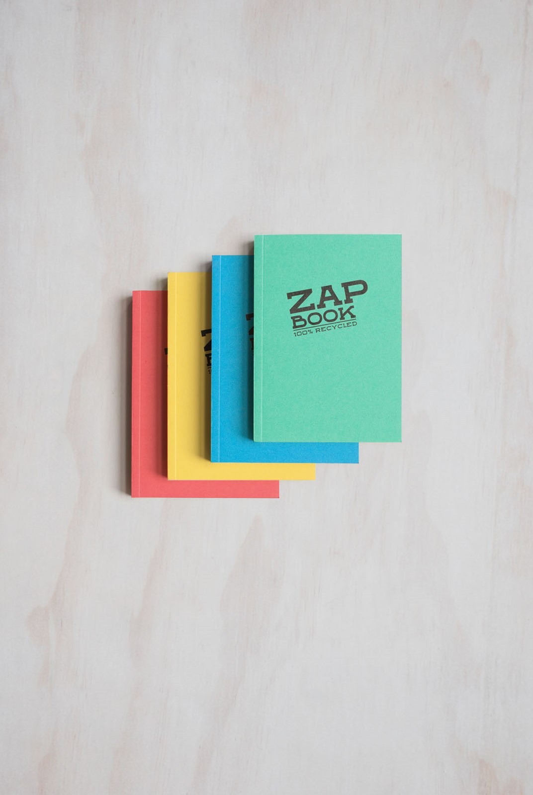 Clairefontaine - Zap Book - Plain - Pocket - Assorted Colours