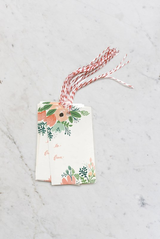 Rifle Paper Co - Gift Tags - Set of 10 - Wildflower