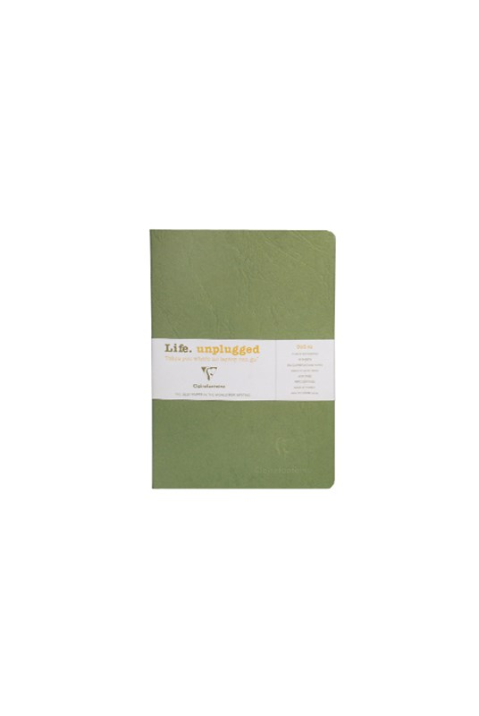 Clairefontaine - Stapled Twin Set Notebooks - Ruled - A5 - Green