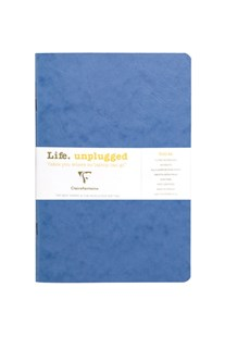 Clairefontaine - Stapled Twin Set Notebooks RLD A5 Blue - Notebooks & Journals Notebook - Ruled