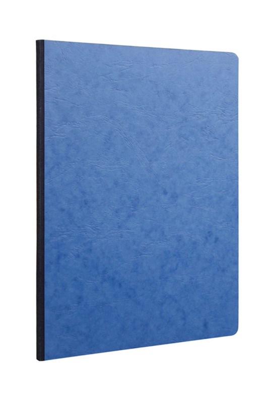 Clairefontaine - Clothbound Notebook - Ruled - A4 - Blue