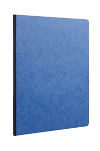 Clairefontaine - Clothbound Notebook - Ruled - A4 - Blue - Notebooks & Journals Notebook - Ruled