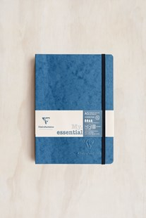Clairefontaine - Thread-bound Notebook GRD A5 Blue - Notebooks & Journals Notebook - Grid