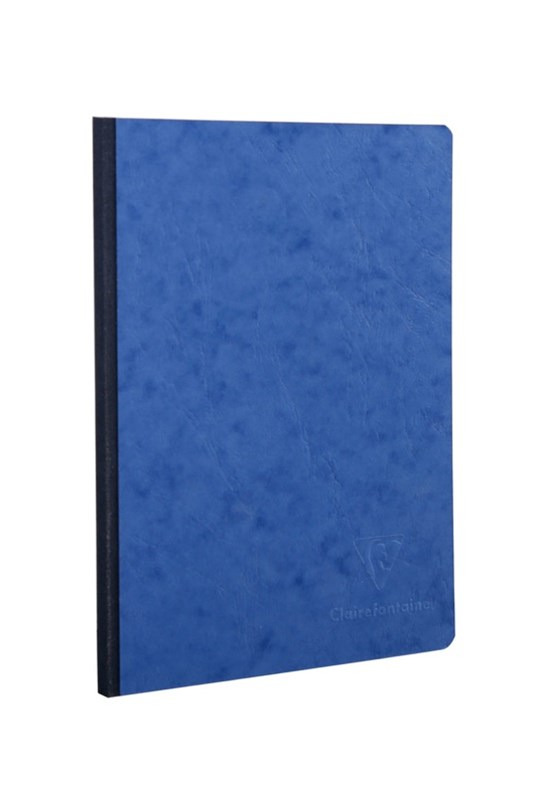 Clairefontaine - Clothbound Notebook - Ruled - A5 - Blue
