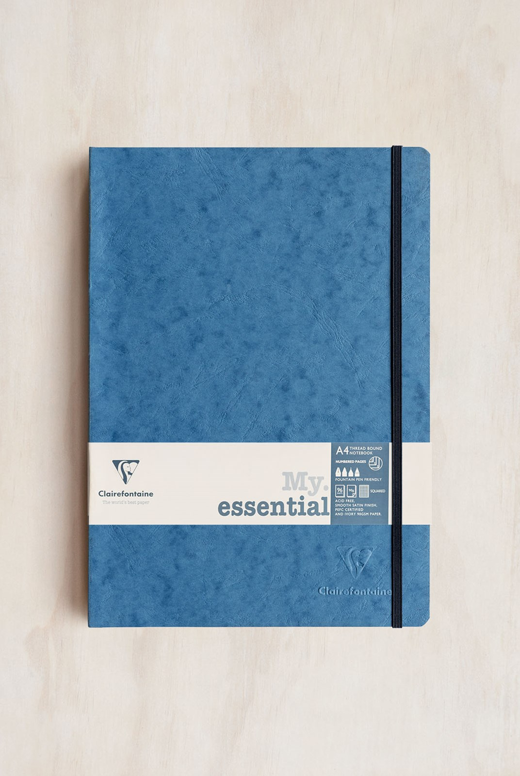 Clairefontaine - Thread-bound Notebook GRD A4 Blue