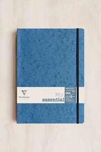 Clairefontaine - Thread-bound Notebook GRD A4 Blue - Notebooks & Journals Notebook - Grid