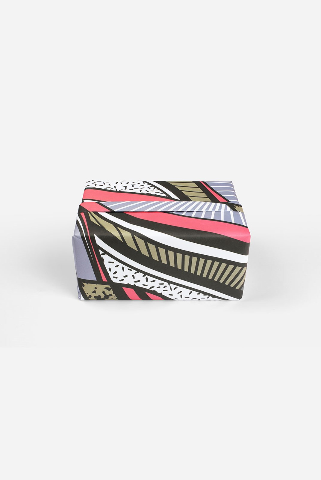 Papier Tigre - Single Wrapping Sheet - The Pink Patchwork
