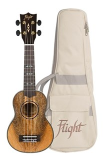 Flight DUS450 Mango Soprano Ukulele with Bag - Entertainment Music General