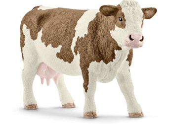 Schleich - Simmental Cow