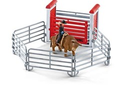 Schleich - Bull Riding with Cowboy